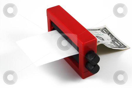 Dollar Changer stock photo, A very impressive money changer magician's trick. by Robert Byron