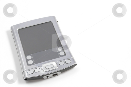 PDA stock photo, A personal digital assistant better known as a PDA. by Robert Byron