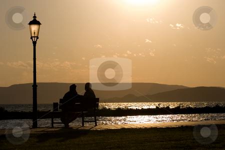 Lake Balaton, Hungary stock photo, Lake Balaton, Hungary by Fesus Robert