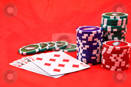 Dead Man's Hand stock photo, The Dead Man's Hand - Aces and Eights by Robert Byron