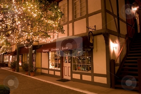 Solvang stock photo, Solvang is a city in Santa Barbara County, California, United States. The city of Solvang is one of the communities that make up the Santa Ynez Valley. by Mariusz Jurgielewicz