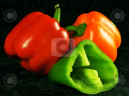 PEPPERS stock photo, Styll Lyfe composition inspired by Edward Weston! by Elf Evans