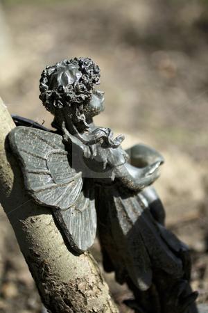 Angel Statue stock photo, Nostalgic angel by Juliet Photography