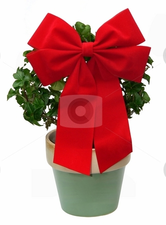Christmas stock photo, Christmas decoration by Perry Correll