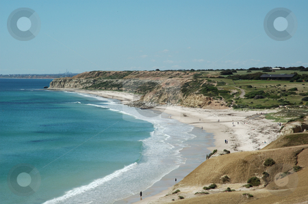 Port Willunga stock photo, The beautiful coast at Port Willunga by Irene Scales