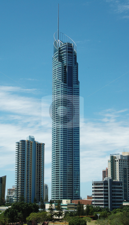 Q1 stock photo, Q1 - World's Tallest Residential Building on the Gold Coast in Queensland, Australia by Irene Scales