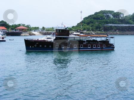 Islamorada stock photo, Al Capone's boat