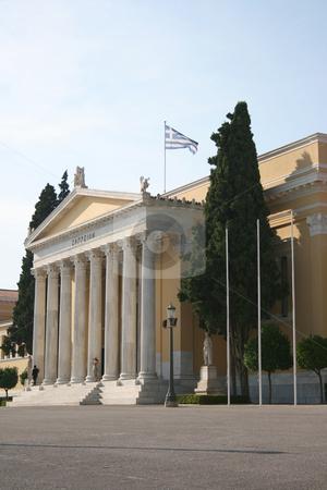 Zapion building stock photo, Neoclassical building of zapion landmarks of athens greece by EVANGELOS THOMAIDIS
