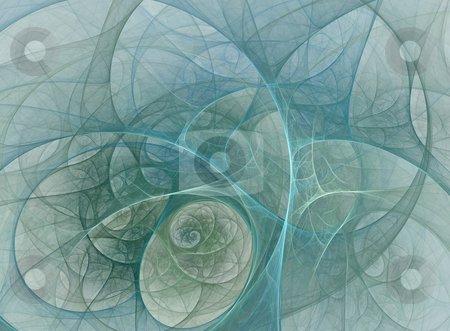 Tracery tunnel stock photo, Abstract fractal illustration of a tracery tunnel by Natalia Macheda