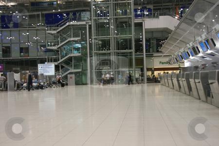 Activity stock photo, Moving activity at bangkok international airport by EVANGELOS THOMAIDIS
