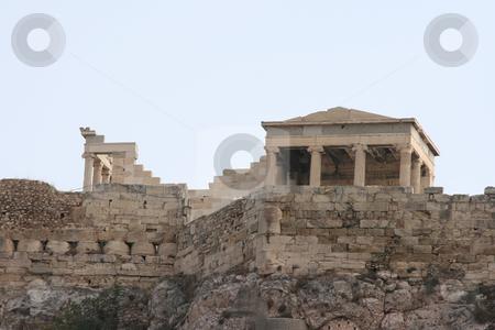 Erechthion stock photo, View of erechthion part of parthenon athens greece by EVANGELOS THOMAIDIS