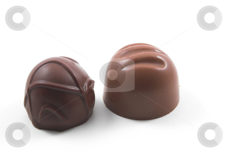 Chocolate Cordials stock photo, An assortment of deliciously sweet chocolate cordials. by Robert Byron