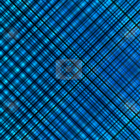 Blue colors diagonal lines pattern background. stock photo, Blue colors diagonal lines pattern background. by Stephen Rees
