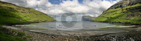 Beach of Tj??rnuv? stock photo, Travel in the Faroe Islands. Beach of Tj??rnuv? by Philippe Rikir