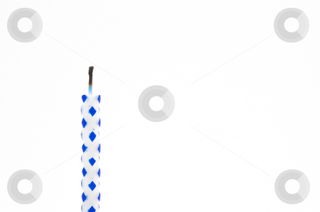 Birthday Candle stock photo, A birthday candle used for decorating ckaes. by Robert Byron