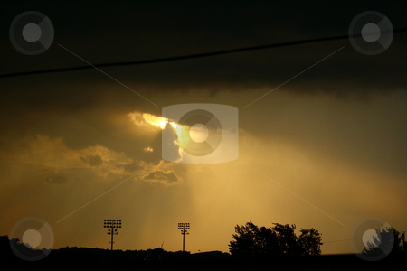 Thunderstorm stock photo,  by Andrew Simmons