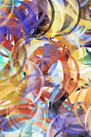 Abstract painting styled background stock photo, Colorful background in abstract painting style by Wino Evertz
