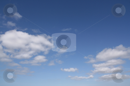 Natural sky background stock photo, Natural sky background, horizontal by Tilo