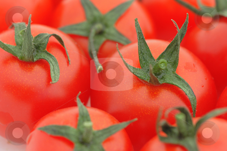 Tomato background stock photo, Close-up of a tomato heap. Shallow DOF by Natalia Macheda