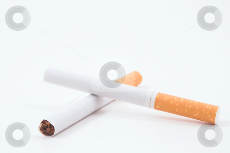 Cigarettes stock photo, Cigarettes; one of the leading causes of death. by Robert Byron
