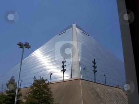 Memphis Pyramid  stock photo, A nice shot of Memphis' Pyramid in the nice memphis sunlight. Thanks by David Robinson