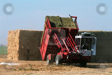 MPIXIS250584 stock photo, Farmer baling hay by Mpixis World