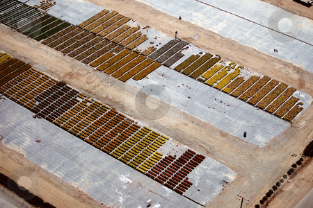 MPIXIS250586 stock photo, Aerial view of plant nursery by Mpixis World