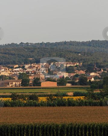 Rural landscape in Catalonia stock photo, Rural landscape in Catalonia by Gady Cojocaru
