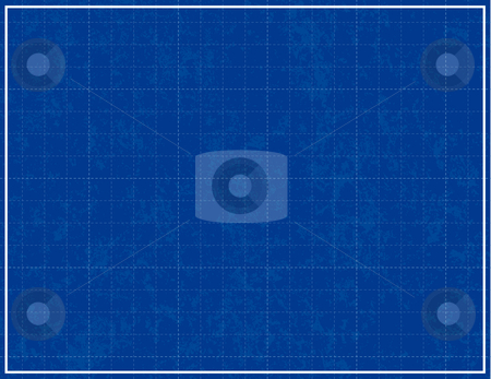 Blueprint Background stock vector clipart, Blueprint Background by Adrian Sawvel