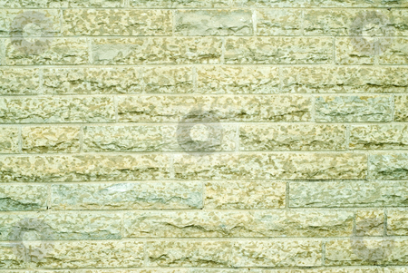 Limestone Background stock photo, A background of large stone bricks of limestone by Richard Nelson