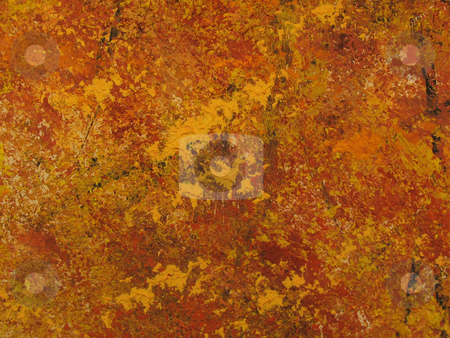 Oil paint texture stock photo, Autumn colors red, gold and orange textured oil painting by Anita Peppers