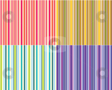 Seamless Stripes stock vector clipart, Illustration of seamless stripes good for gift wrappers and backgrounds by Stephanie Soon