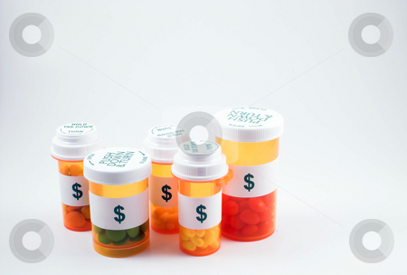 High Cost of Medication stock photo, High cost of medication is like pouring money down the drain. by Robert Byron