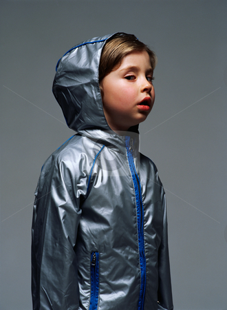 MPIXIS665028 stock photo, Boy wearing a hooded jacket by Mpixis World