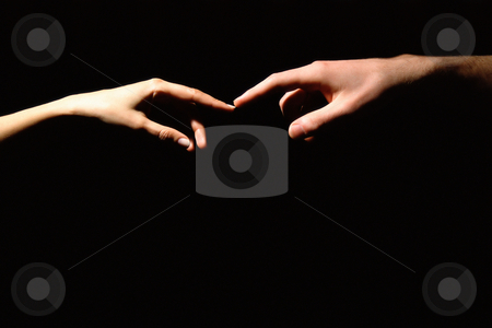 MPIXIS529045 stock photo, Touching hands by Mpixis World