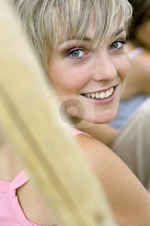 MPIXIS613068 stock photo, Smiling young woman by Mpixis World