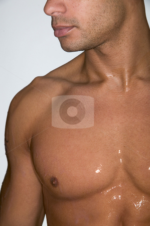 MPIXIS641006 stock photo, Portrait of a muscular man by Mpixis World