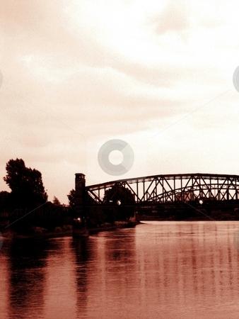Bridge stock photo,  by Michael Unterd?
