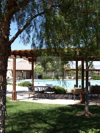 Pool Area stock photo, Pool Area by Joseph Ligori