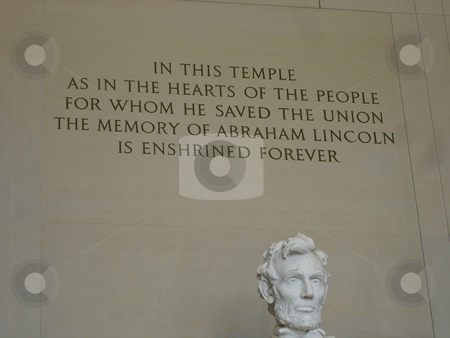 Lincoln Memorial in Washington DC stock photo,  by Ritu Jethani