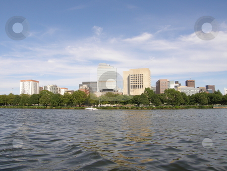 Boston Skyline (USA) stock photo,  by Ritu Jethani