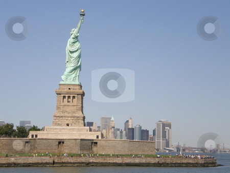 Statue of Liberty in New York City stock photo,  by Ritu Jethani