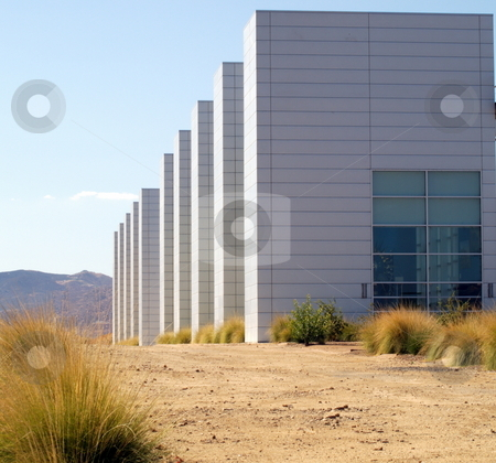 Geometric Building Structure stock photo, Geometric Building Structure by Joseph Ligori