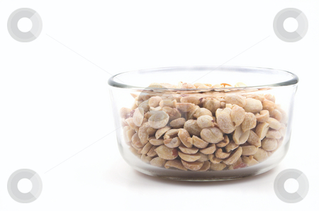 Peanuts  stock photo, A bowl full of delicious peanuts unless you're allergic to them. by Robert Byron
