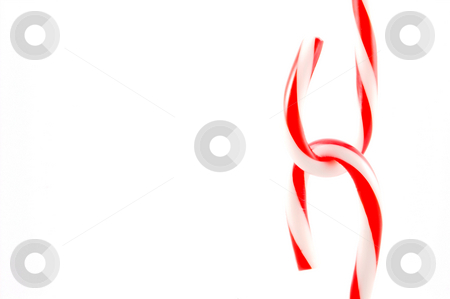 Candy Canes stock photo, Candy canes ready for the Christmas holidays. by Robert Byron