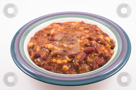 Chili stock photo, A delicious bowl of pipng hot chili. by Robert Byron