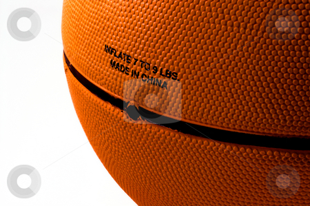 Basketball stock photo, A colligiate basketball ready for a game. by Robert Byron