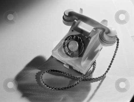 MPIXIS257010 stock photo, Vintage telephone by Mpixis World