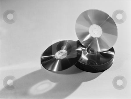 MPIXIS257020 stock photo, Compact discs by Mpixis World