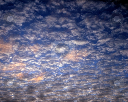 MPIXIS250500 stock photo, Cloudy evening sky by Mpixis World